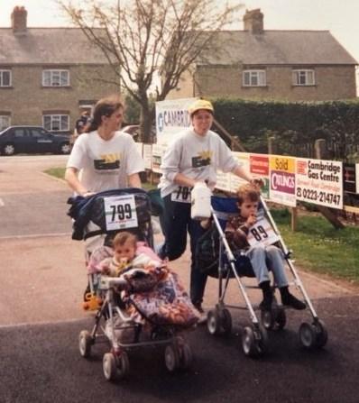 Running the Sawston Fun Run
